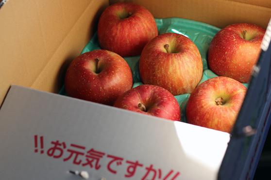 福島県産のりんご