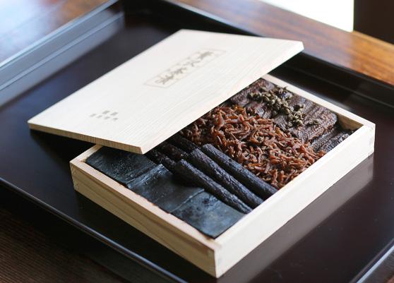 贅沢茶漬 杉箱