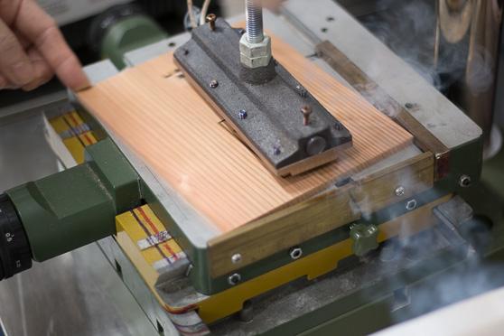 焼印の機械