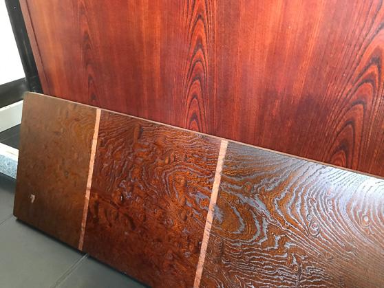 欅塗装サンプル