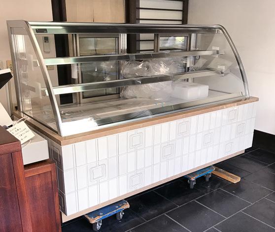 新冷蔵ショーケース